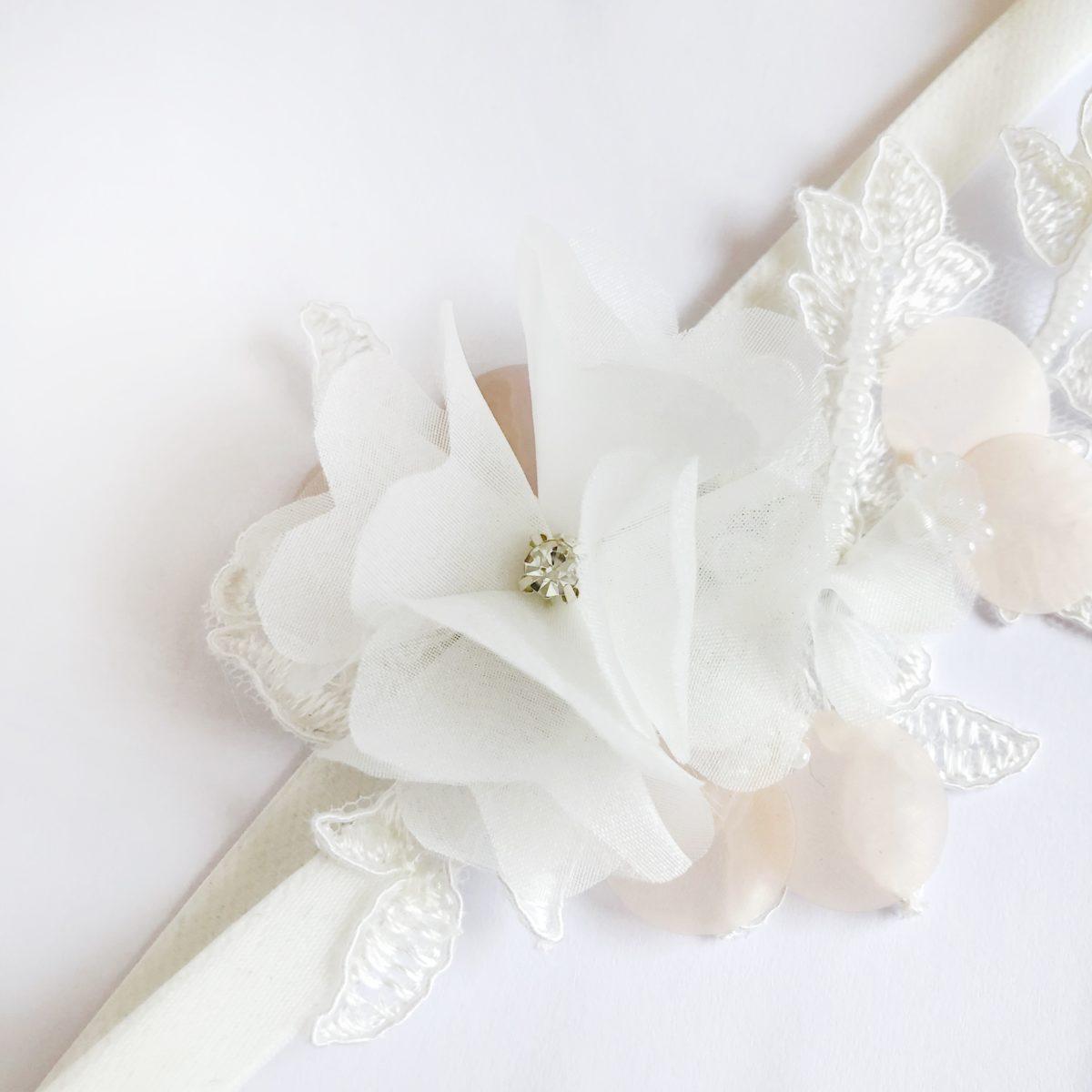 Wedding Dress Garter: Miriam Wedding Garter